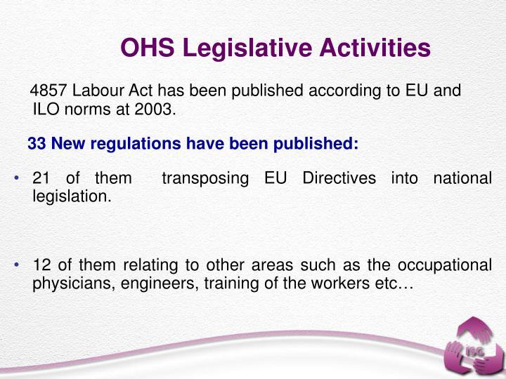 OHS Legislative