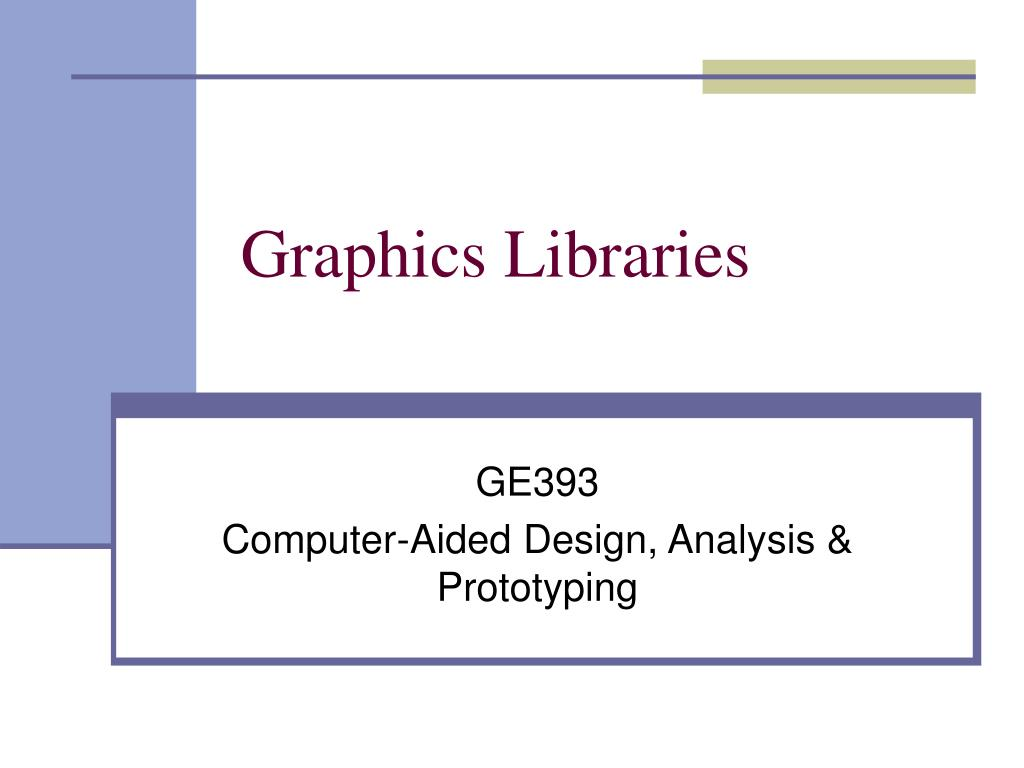 graphics libraries l.