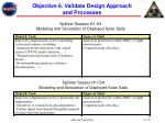 objective 6 validate design approach and processes18