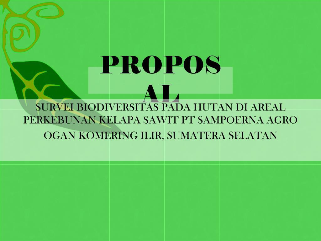 proposal l.