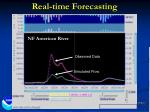 real time forecasting