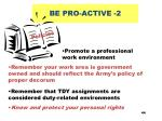be pro active 2