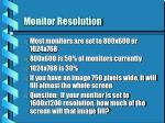 monitor resolution