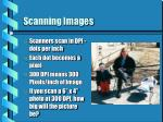 scanning images