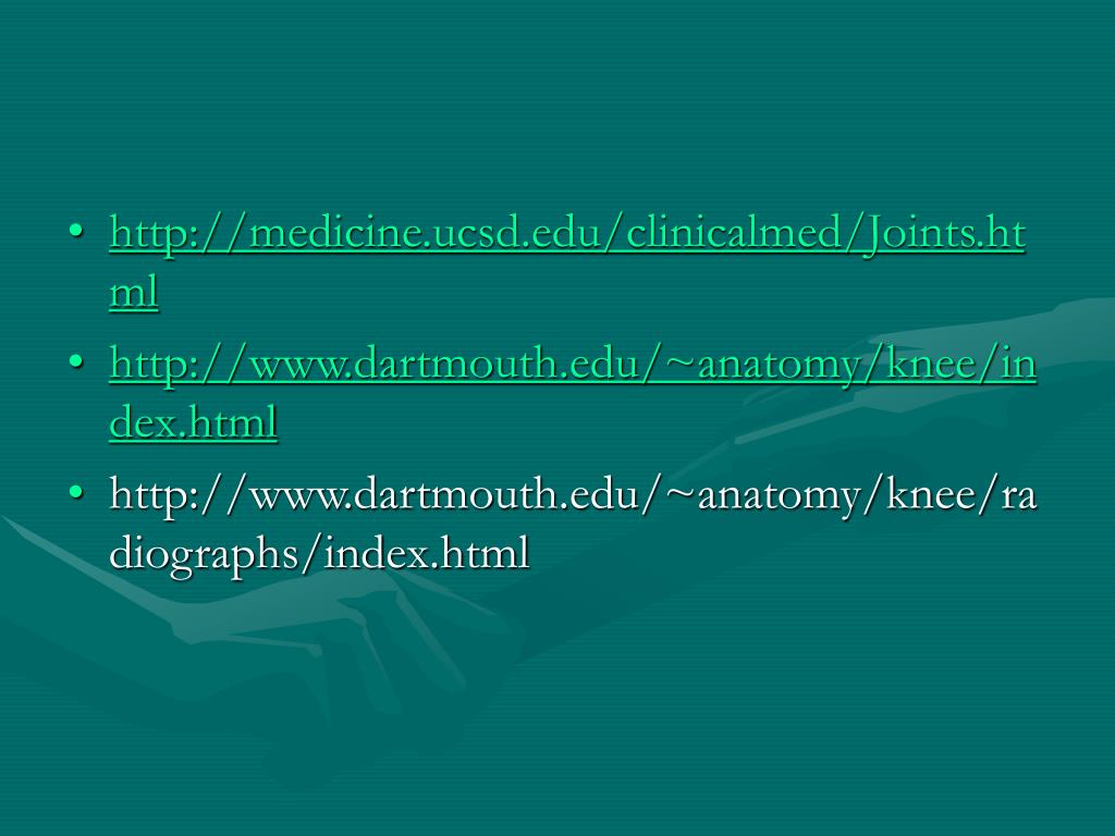 http://medicine.ucsd.edu/clinicalmed/Joints.html
