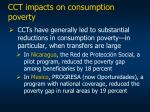 cct impacts on consumption poverty
