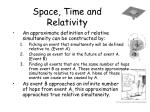 space time and relativity17