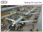 boeing 737 lean cell