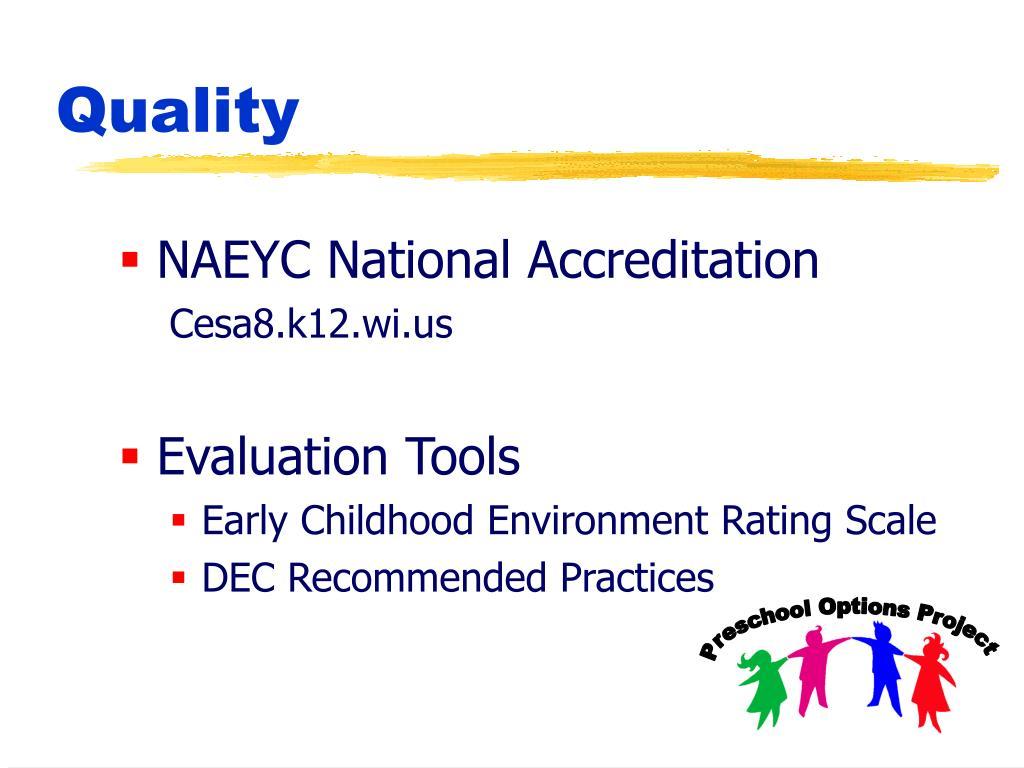 NAEYC National Accreditation