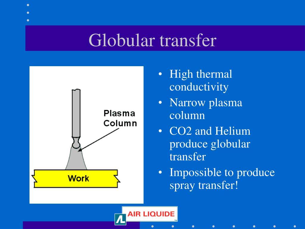 Globular transfer