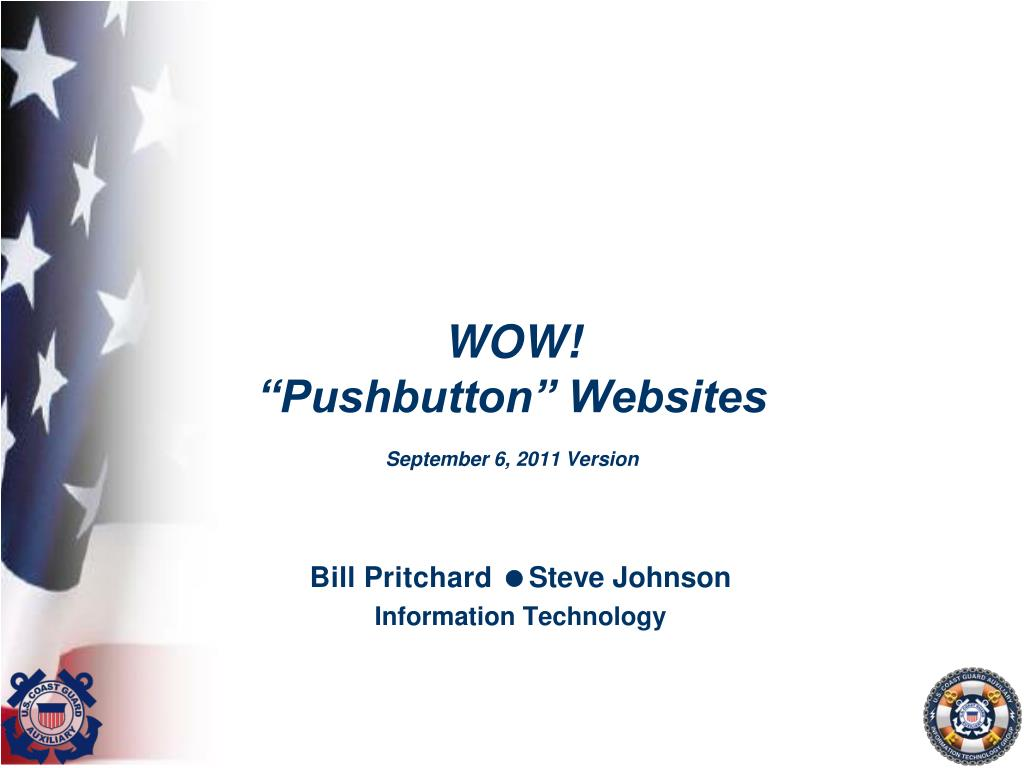 wow pushbutton websites september 6 2011 version l.