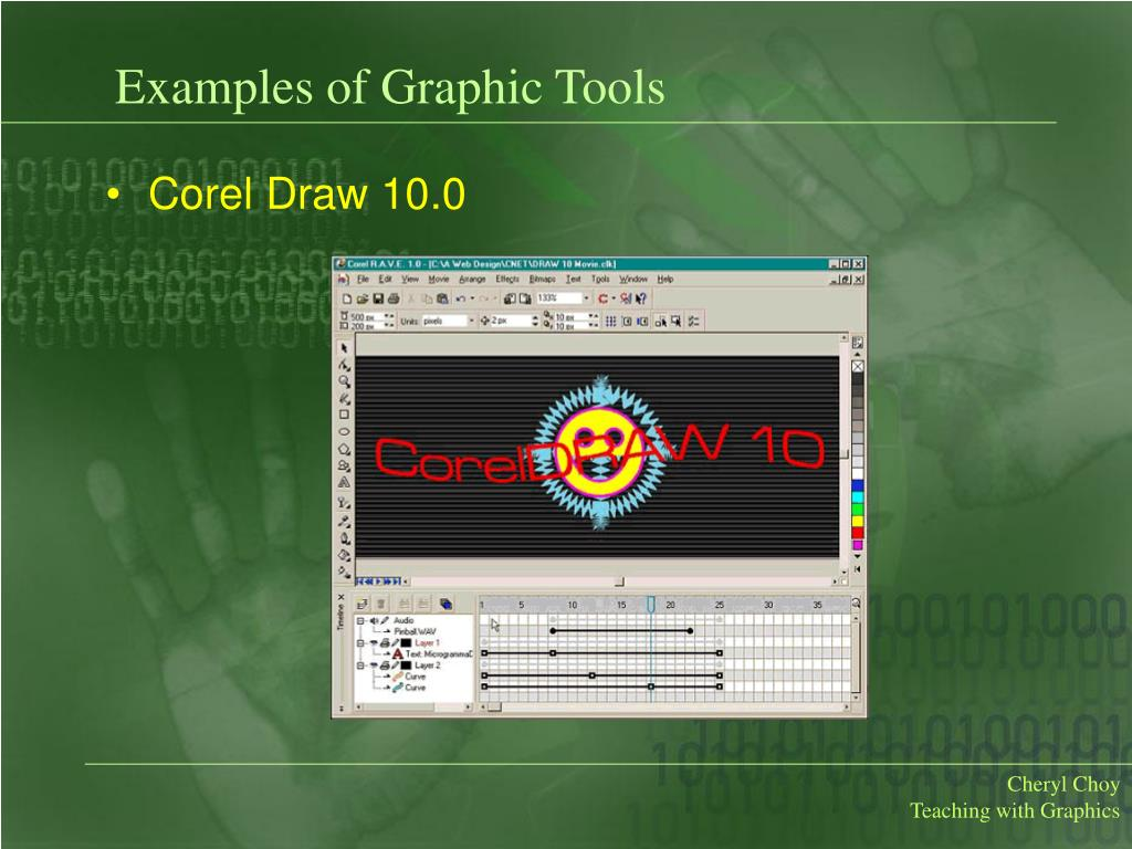 Examples of Graphic Tools