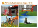 virtual studio dance stage 2 3