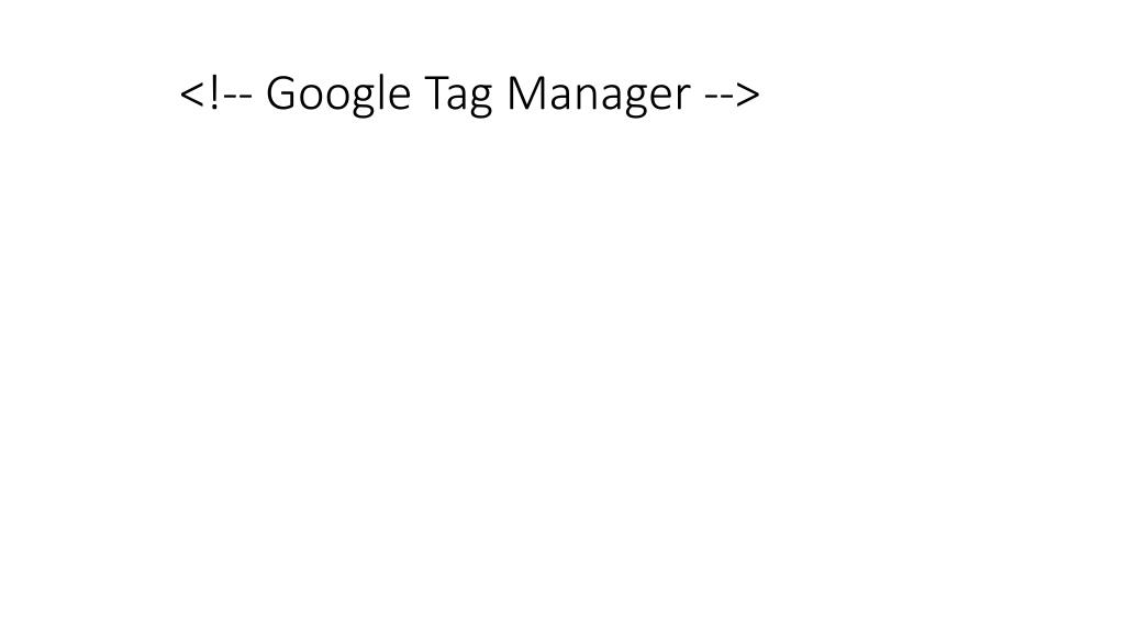 <!-- Google Tag Manager -->