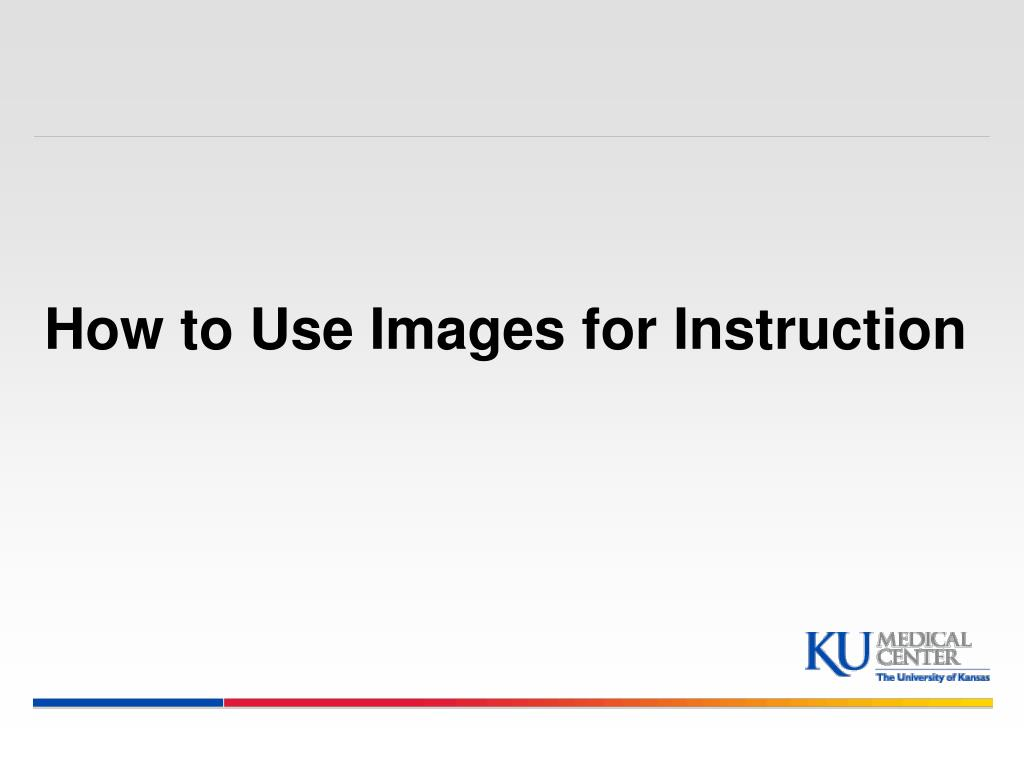 how to use images for instruction l.