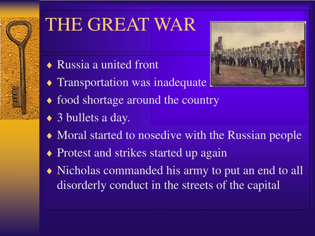 Russia a united front