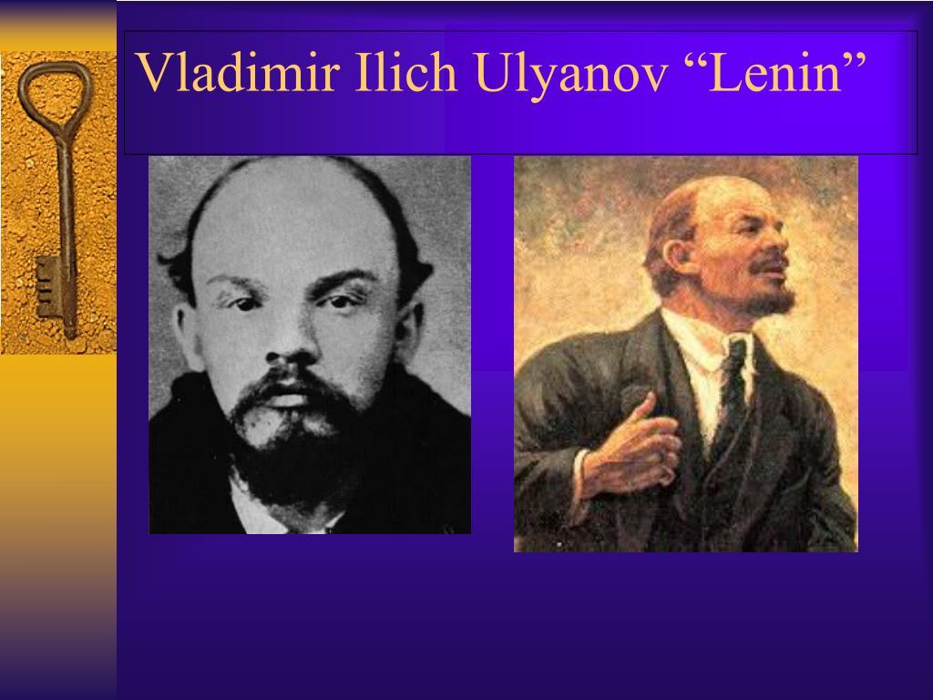 "Vladimir Ilich Ulyanov ""Lenin"""