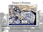 france s position11