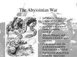 the abyssinian war20