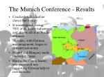 the munich conference results