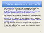 iii who were the progressive economists 3