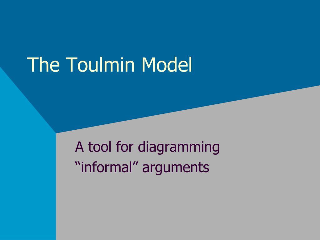 the toulmin model l.