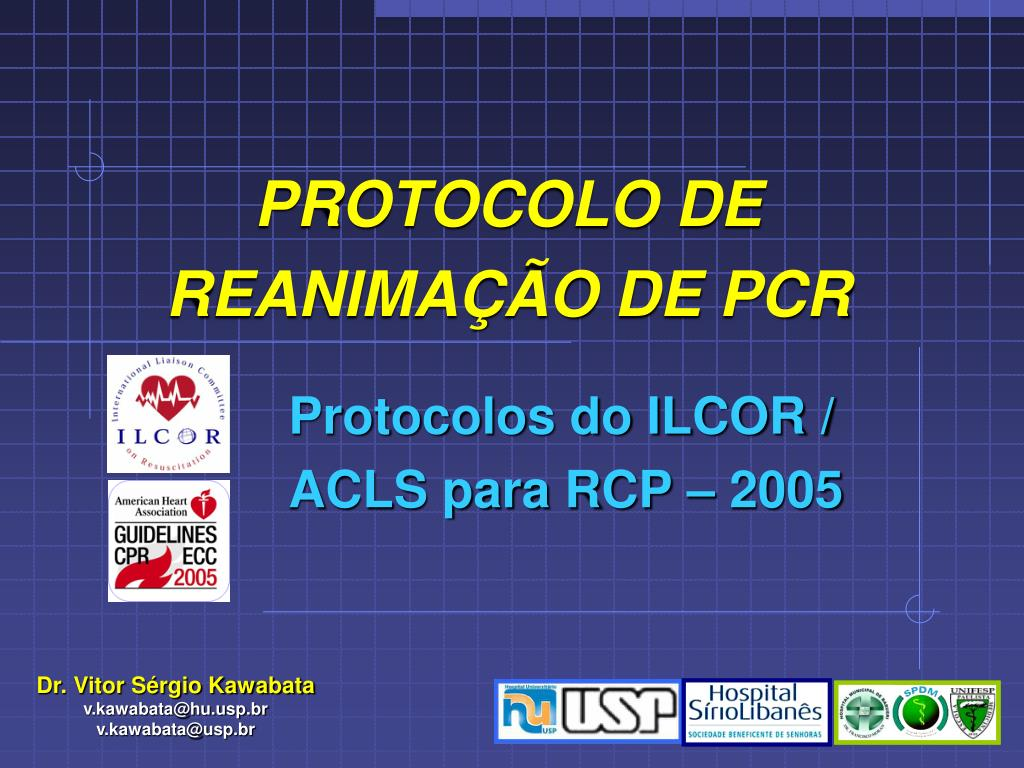 protocolo de reanima o de pcr l.