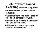 20 problem based learning savery duffy 1996