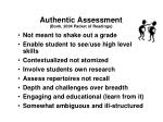authentic assessment bonk 2004 packet of readings