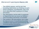 what can we do logical argument mapping lam