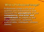 what is professional image