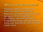 why are soft skills important