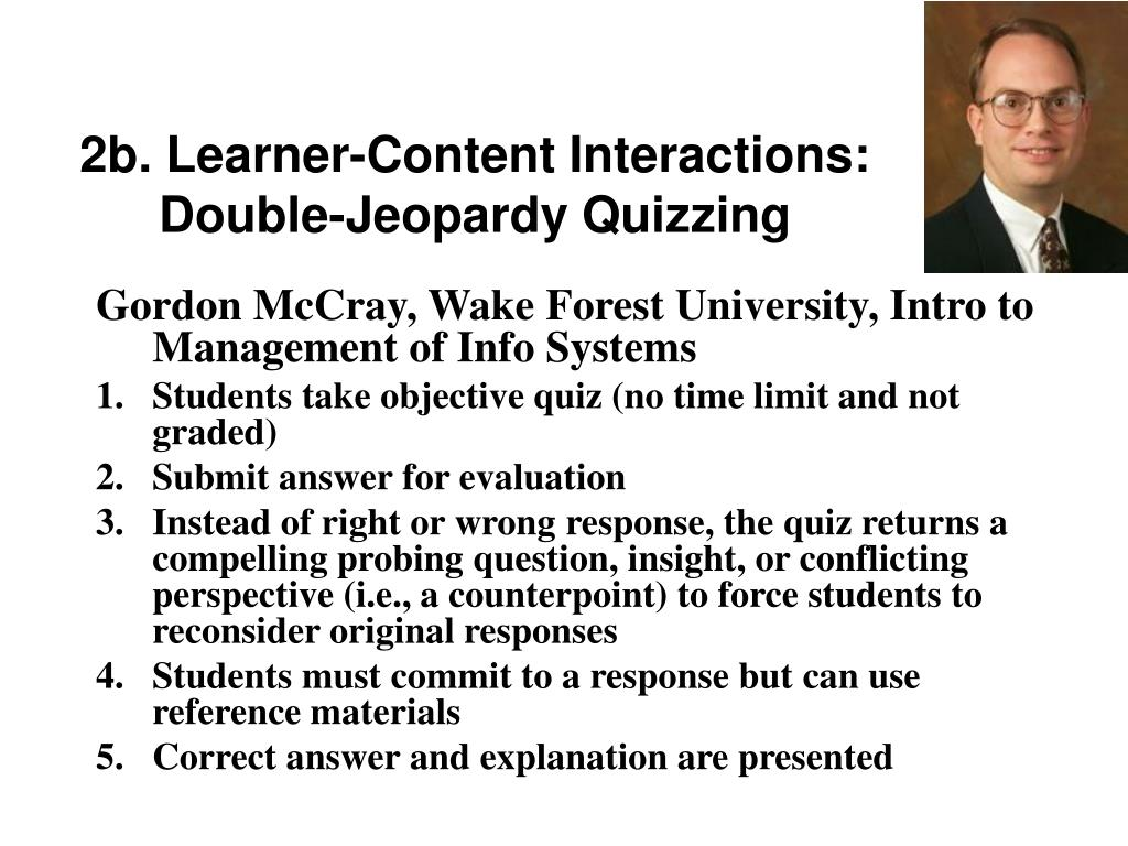 2b. Learner-Content Interactions: