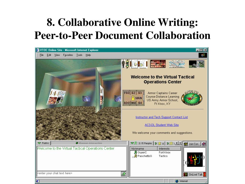 8. Collaborative Online Writing: