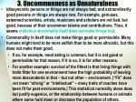3 uncommonness as unnaturalness