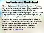 does unnaturalness make badness