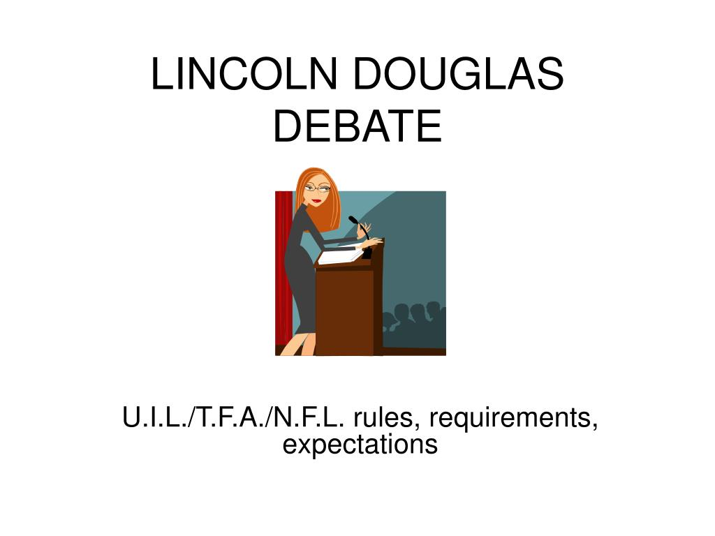 lincoln douglas debate l.