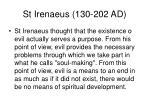 st irenaeus 130 202 ad