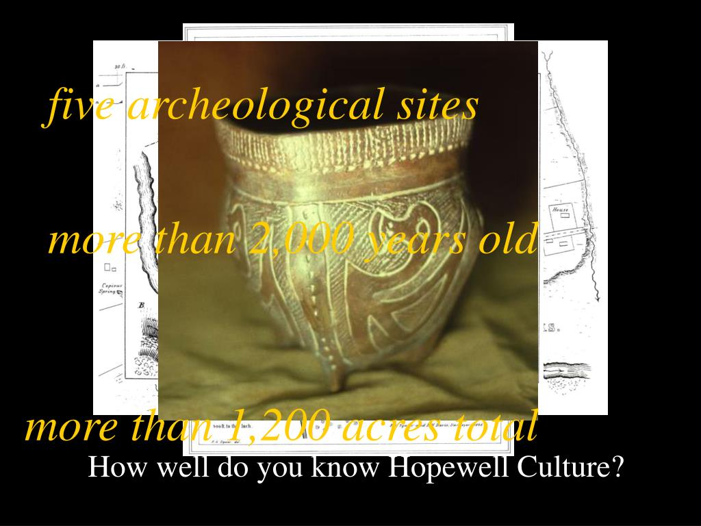 five archeological sites
