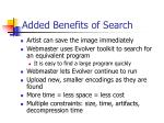 added benefits of search
