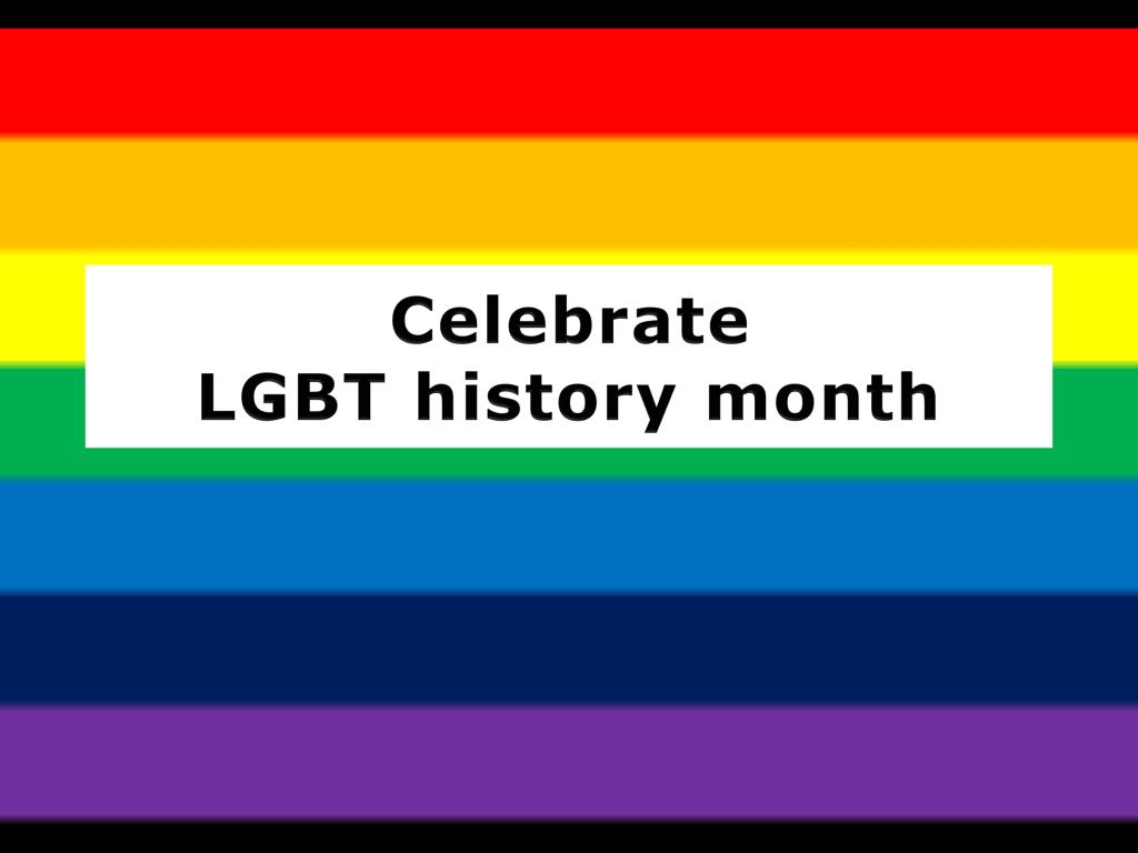 celebrate lgbt history month l.