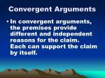 convergent arguments