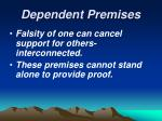 dependent premises