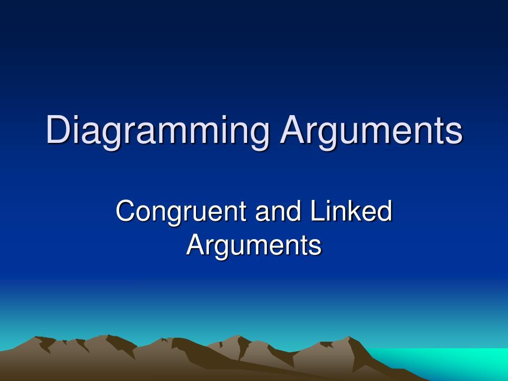 diagramming arguments l.