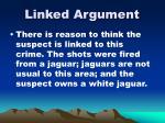 linked argument