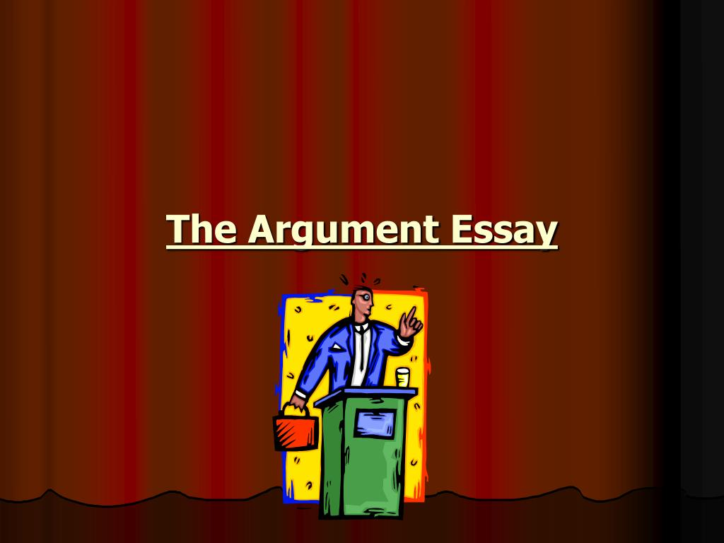 the argument essay l.
