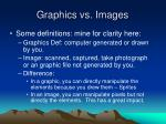 graphics vs images
