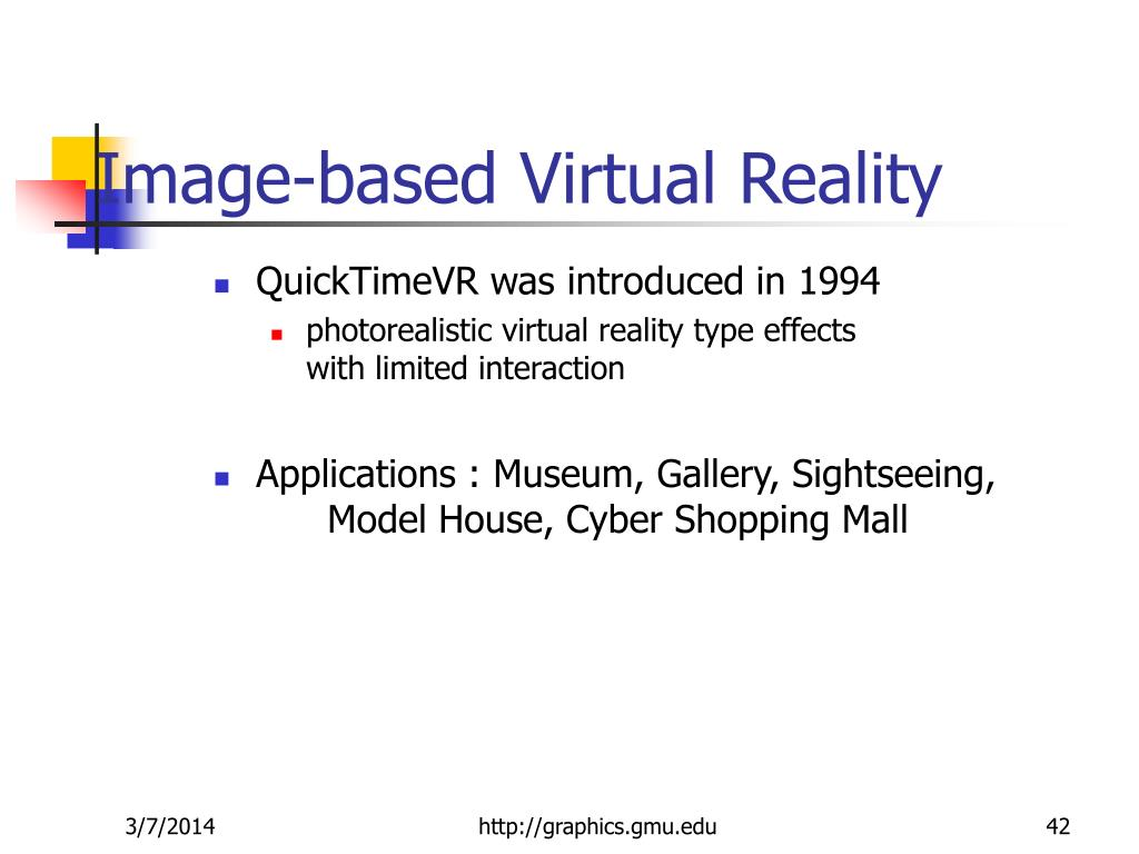 Image-based Virtual Reality