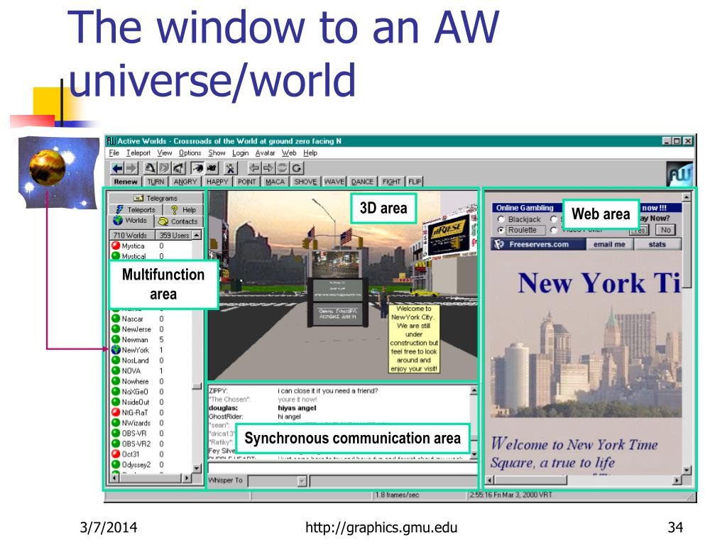 The window to an AW universe/world