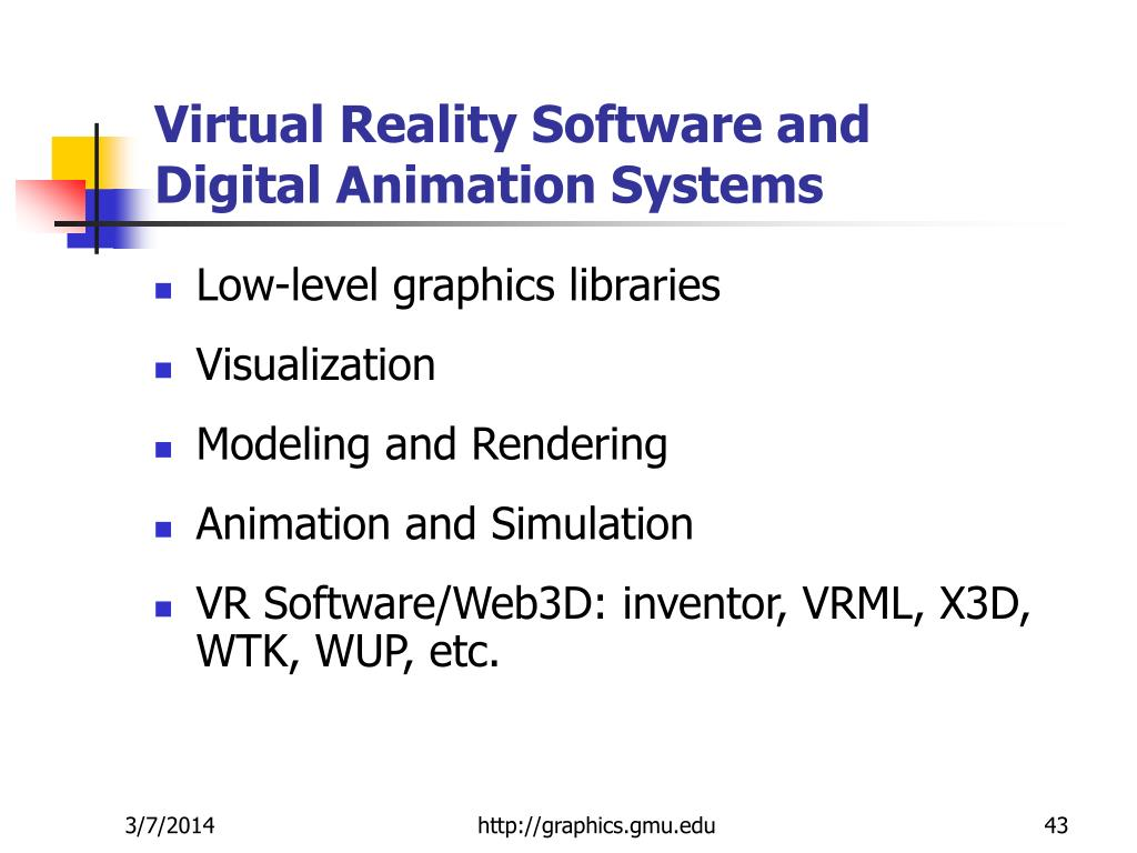 Virtual Reality Software and